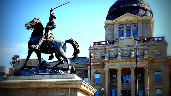 Montana Capitol by Tracy