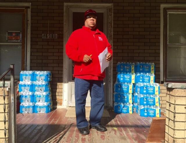 Flint water crisis door to door 4