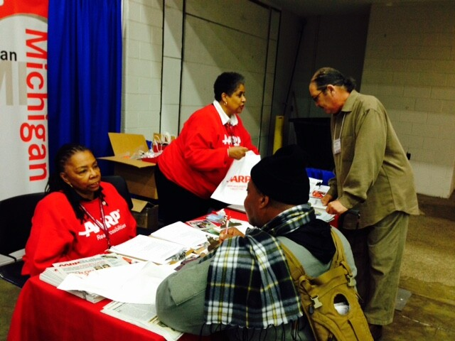 Veterans expo Detroit Nov 2014