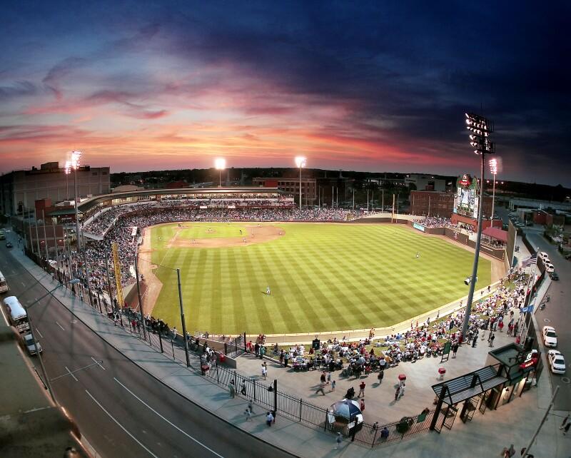 Fifth Third Field - Dayton Ohio (photo courtesy of Dayton Dragons)