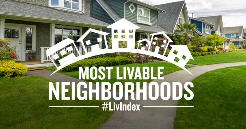 Most Livable Neighborhoods