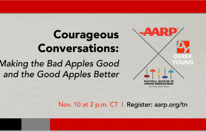 AARP to Host Courageous Conversation Series