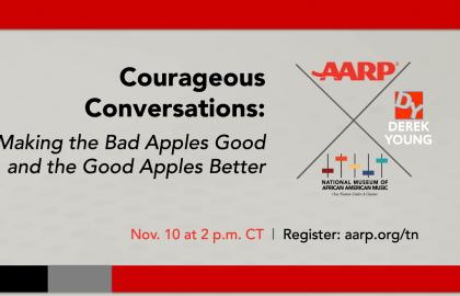 AARP to Host Courageous Conversation Series