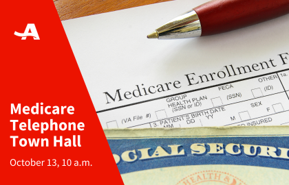 Join AARP Oklahoma for a Live Medicare Telephone Town Hall