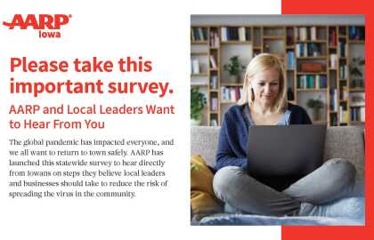 Take the AARP Iowa Survey