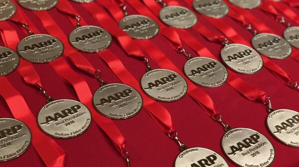 Medallions Indian Elder Honors 10.2.2018