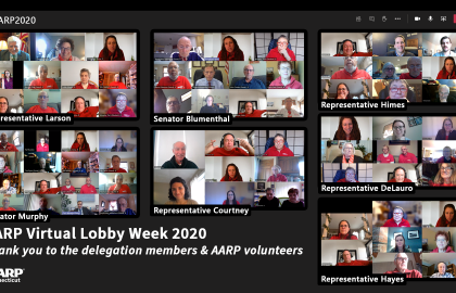 "AARP Connecticut Urges Congress to Address Continuing Needs of Older Americans, Nursing Home Residents through ""Virtual Lobby Week"""