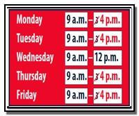 SS new hours