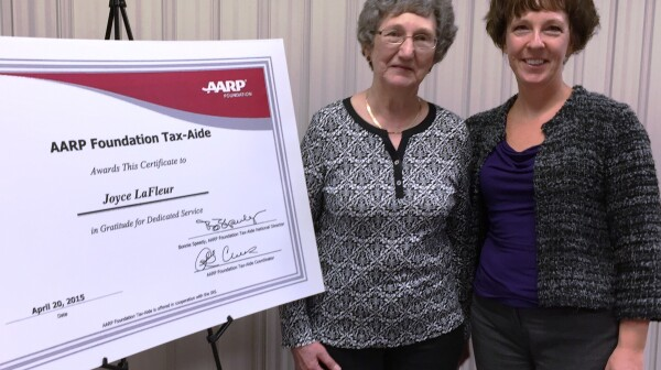 Joyce LaFleur and Karen 2 - tax aide retirement (2)