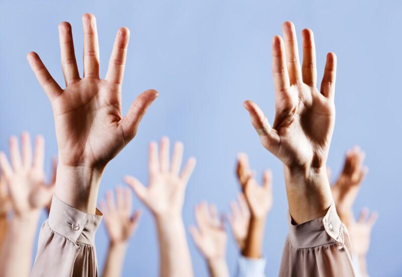 Volunteer hands iStock_000017880031Medium
