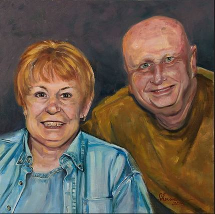 Stu and Carol Painting