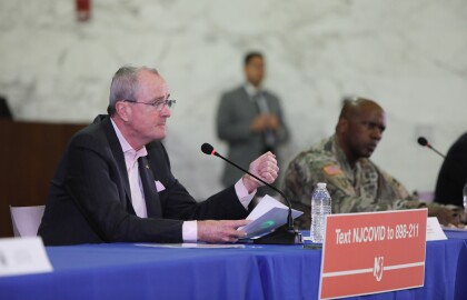 Coronavirus Telephone Town Hall with New Jersey Governor Phil Murphy, NJ Department of Health Commissioner Judith Persichilli and NJ Department of Human Services Commissioner Carole Johnson