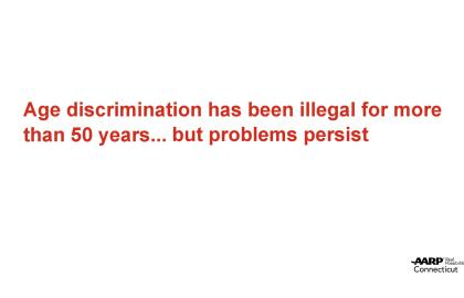 Putting an End to Age Discrimination