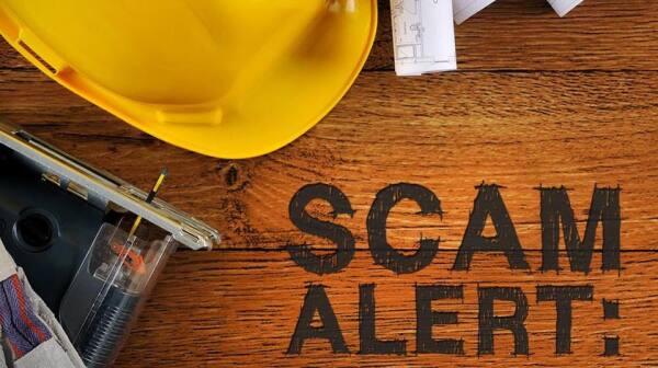 Scam Alert Cash Up Front