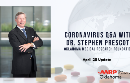 Coronavirus Q&A with Dr. Stephen Prescott: April 28 Update
