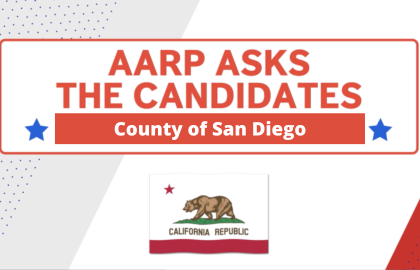 County of San Diego Candidates Answer Questions Vital to Voters Age 50+