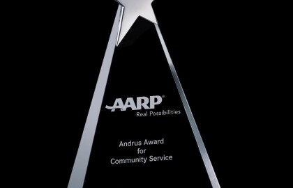Nominate a Volunteer for the 2020 AARP Andrus Award for Community Service