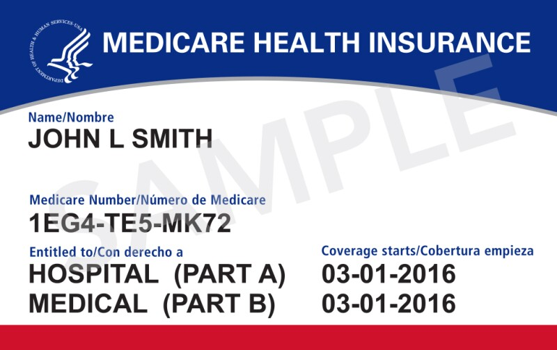 ND - New Medicare Card