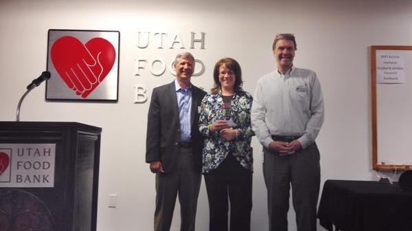 Jill Duke honored as Utah Food Bank Board Member of the Year 2015