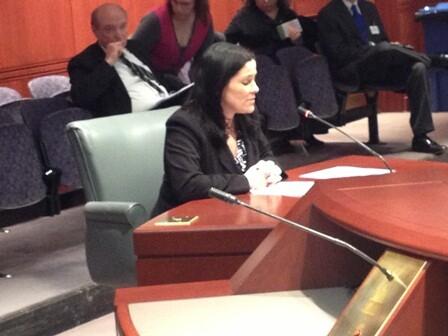 Nora testifying