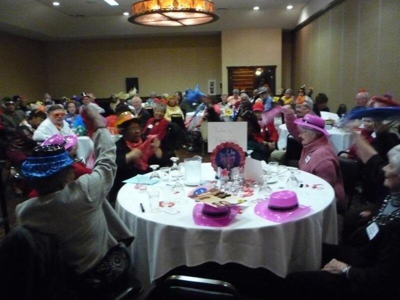 Volunteer recognition event