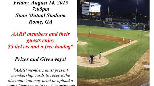AARP Night at the Ballpark 8_2015
