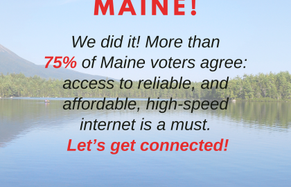 High-Speed Internet is a Must for Mainers