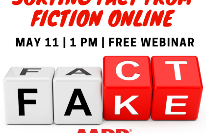 Sorting Fact From Fiction Online -- 5.11.21