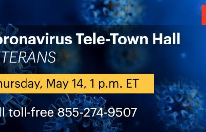 Veterans and Military Families COVID-19 Live Tele-Town