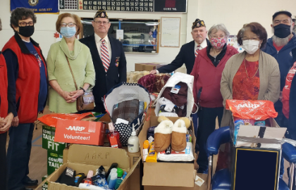 AARP Oklahoma Pittsburg County Chapter Donates Special Holiday Gifts to Talihina VA Veteran Center Residents