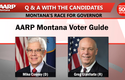 "AARP Montana Releases Governor Voter Guide in Series, ""Q & A with the Candidates"""