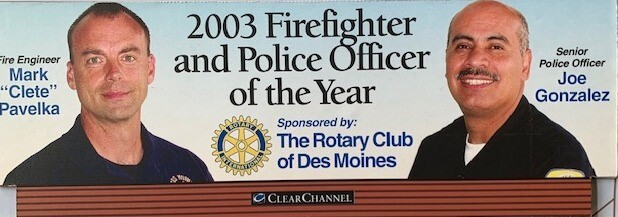 Police Officer of the Year 2003