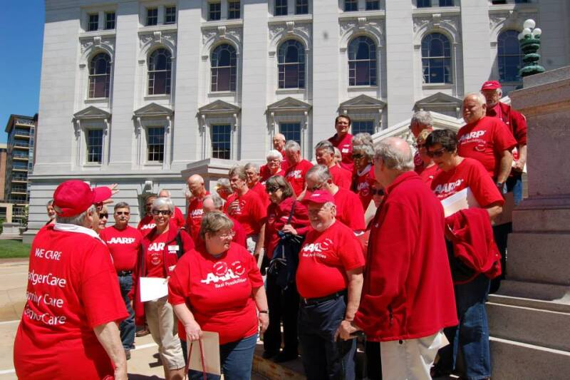 AARP Wisconsin Advocates at the Capitol