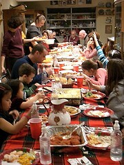Family Gathers for Christmas