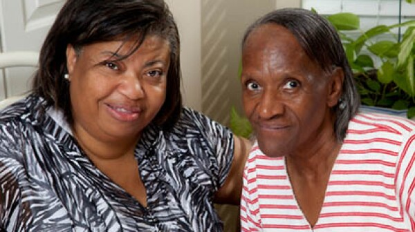 Two Senior African American Women