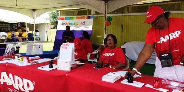 Volunteers at Virgin Islands Ag Fair