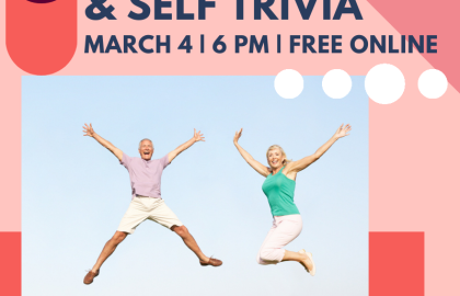 Join the Fun for Online Health, Wealth & Self Trivia--3.4.21