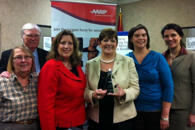 2012 AARP TN Award Winner Jan Kirk Wright