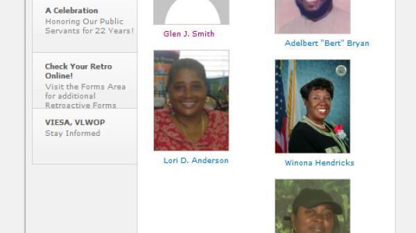 USVI Personnel (GESC 2013 Elections) Candidates