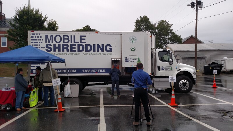 FREE SHREDDING Events in MAINE in 2019!