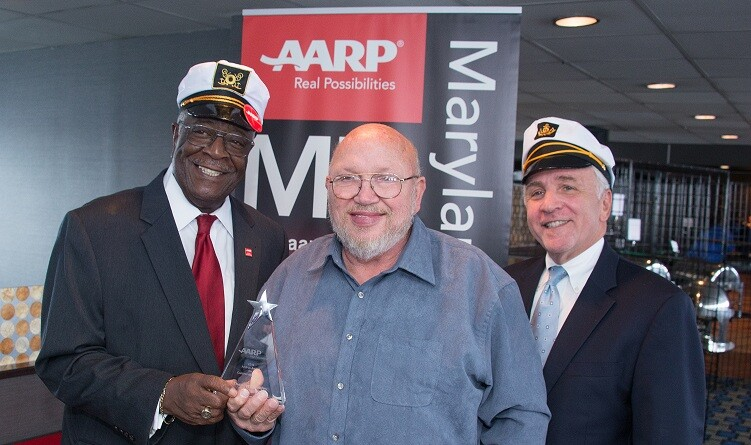 Andrus 2014 AARP award winner Ted Mobley of Harwood, MD.