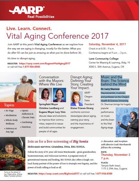 Vital aging conference