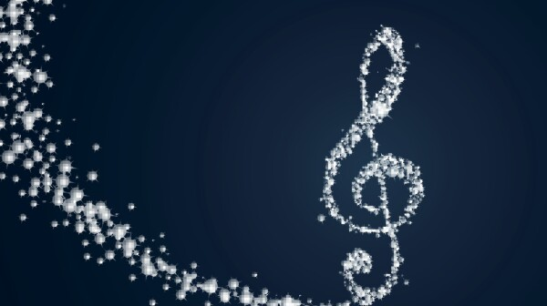 Vector Abstract Music Design