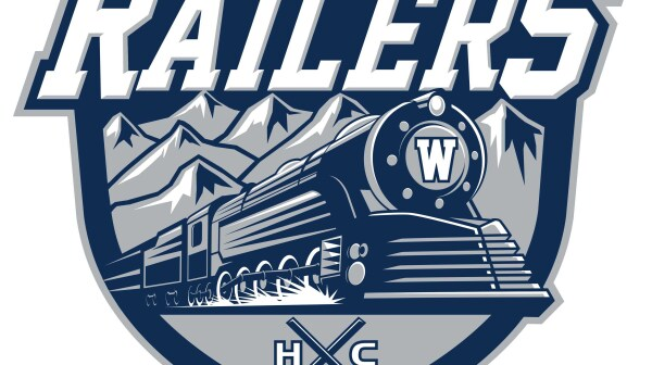 RAILERS HC Primary Logo with Wordmark