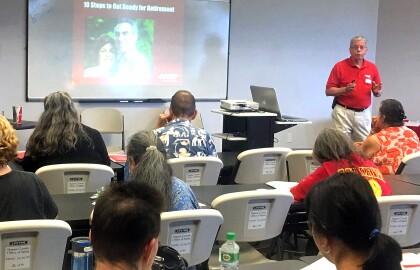 Learning From AARP Hawai'i Speakers
