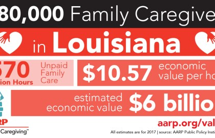 Release: Louisiana Family Caregivers Provide $6 billion in Unpaid Care to Family, Friends at Home