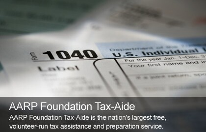 AARP Foundation Tax Aide Offers Free Tax Help