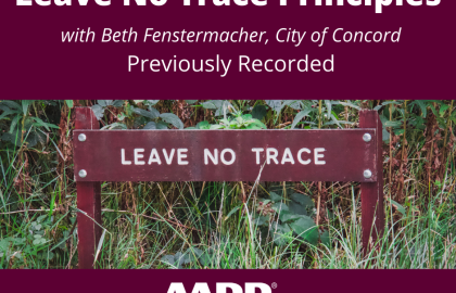 ICYMI--Leave No Trace Outdoor Principles