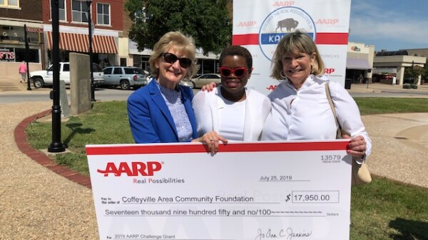 Community Challenge Grant Check Presentation