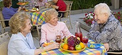 dining at assisted living